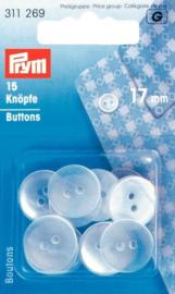Prym 311269 Knopen Polyester 17 mm. (krt)