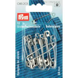 Prym 085201 Veiligheidsspelden 38 mm. (krt)
