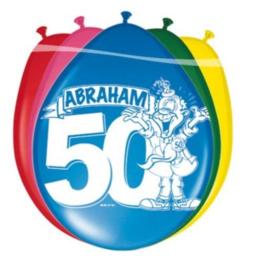 8 ballonnen Abraham