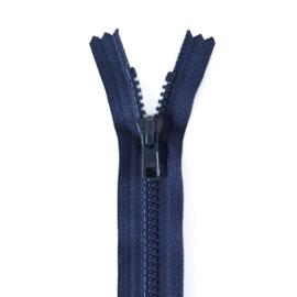Optilon deelbare rits grof 30 cm t/m 80 cm. donkerblauw, klik hier voor een andere maat. Vanaf