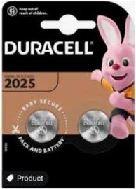Duracell lithium knoopcel 2025  3 volt 2 stuks