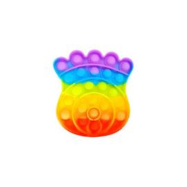 Pop the bubble   kroon regenboog
