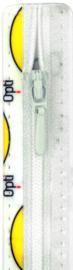 Optilon rits wit 10 cm. t/m 60 cm. Klik hier voor een andere maat. Vanaf