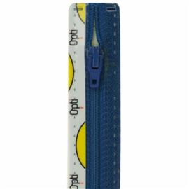 Optilon rits blauw 10 cm. t/m 60 cm. Klik hier voor een andere maat. Vanaf