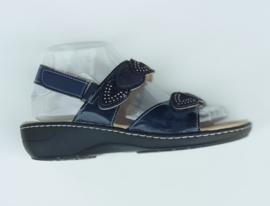 XQT-908  sandaletten blauw  maten 36 t/m 41