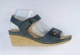 YQ 2002 sandaletten blauw maten 36 t/m 41