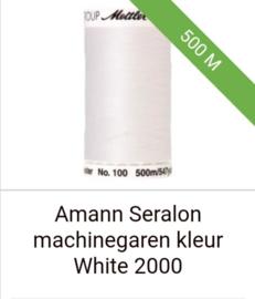 Amann seralon machine garen 500 mtr. in diverse kleuren.Klik hier voor de andere kleuren