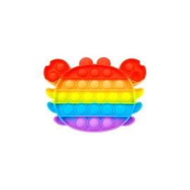 Pop the bubble regenboog krab