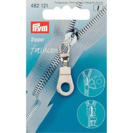 Prym 482121 Ritsenschuiver Zilverkleurig (krt)