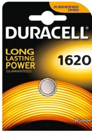 Duracell lithium knoopcel 1620   3 volt