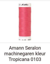 Amann seralon machine garen 200 mtr. in diverse kleuren.Klik hier voor de andere kleuren