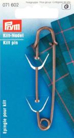 Prym 071602 Kiltspelden Bronskleurig 76 mm. (krt)