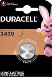 Duracell 2430 knoopcel 3 volt lithium