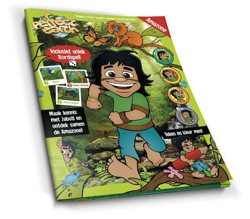 4x Perfect Earth magazine - Amazone