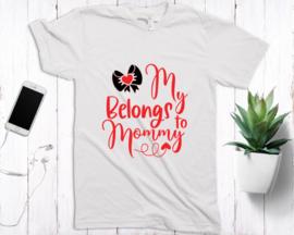 Leuke valentijns shirts met korte mouw