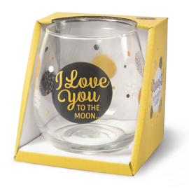 Proost I Love You Glas
