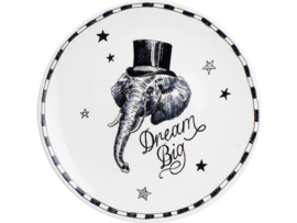 X Noir Plate 26 cm Dream Big