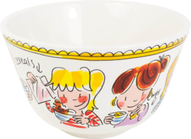 Bowl 14 cm Pink Text