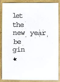 Let the new year be gin