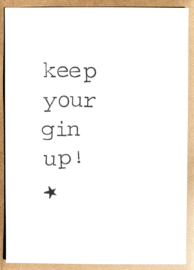Keep your gin up!