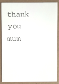 Thank you mum