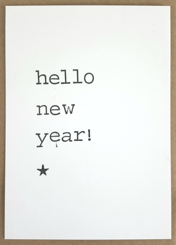 Hello new year!