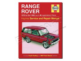 Werkplaatshandboek Range Rover Classic