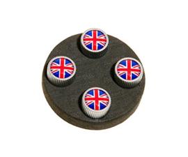 Ventieldopjes Engelse vlag