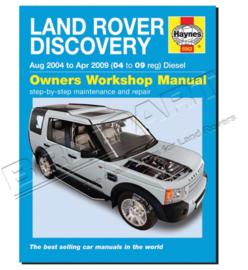 Werkplaatshandboek Discovery III