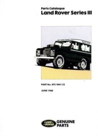 Onderdelen catalogus Landrover Series III