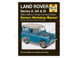 Werkplaatshandboek Series II, IIA & III