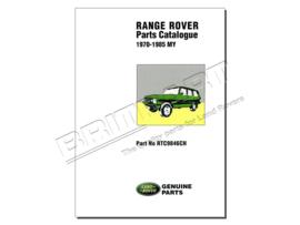 Onderdelen catalogus Range Rover Classic