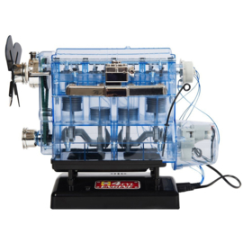 Werkend model 4 cil. motor