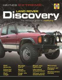 Haynes extreme Landrover Discovery