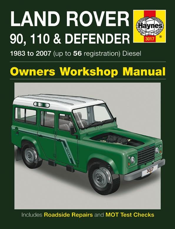 Werkplaatshandboek Defender