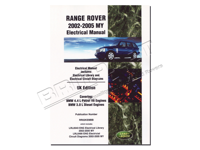 Elektronica handboek Range Rover L322