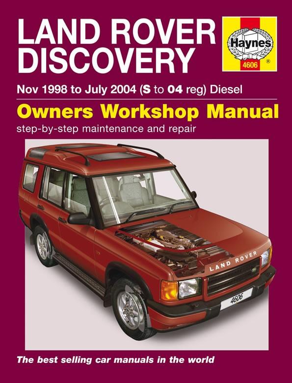 Werkplaatshandboek Discovery II