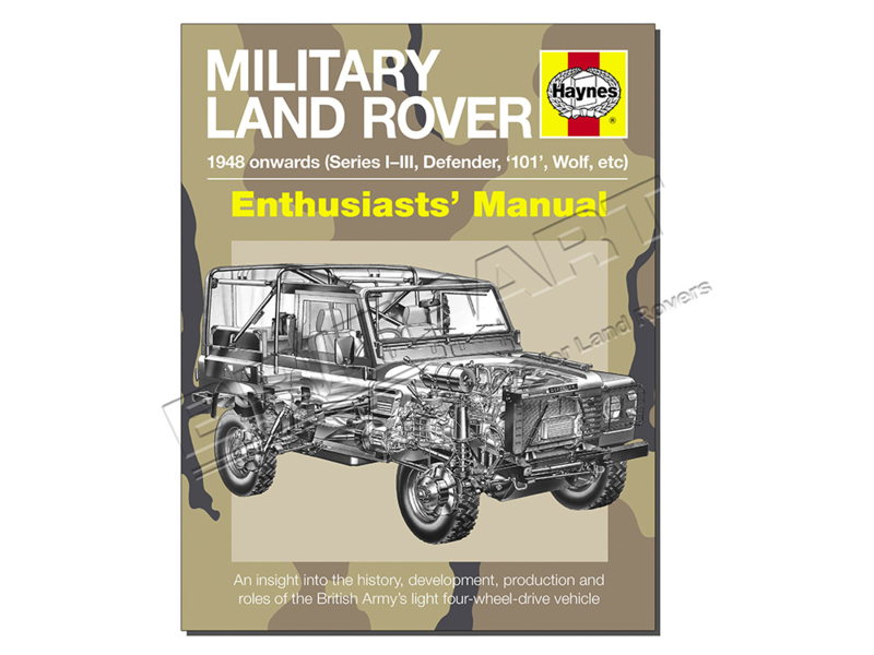 Enthusiasts' manual Military Landrover