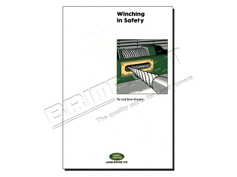 Handboek Winching in Safety