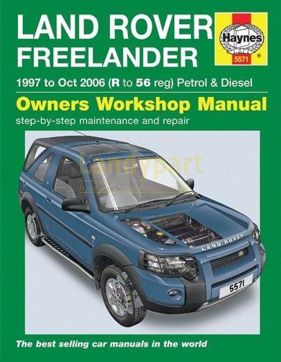 Werkplaatshandboek Freelander