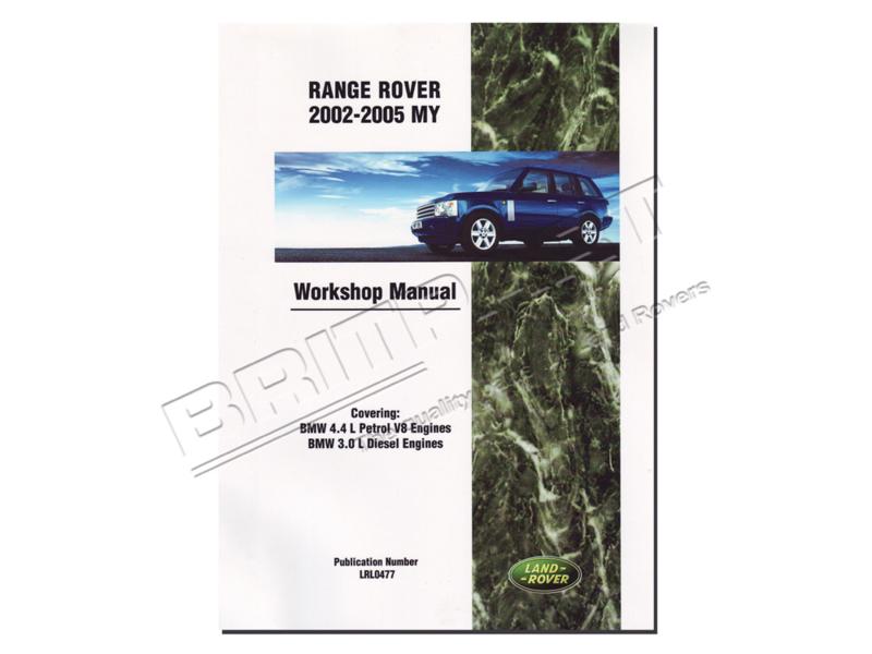 Werkplaatshandboek Range Rover L322