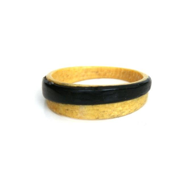 Houten ring buxus-aniegre