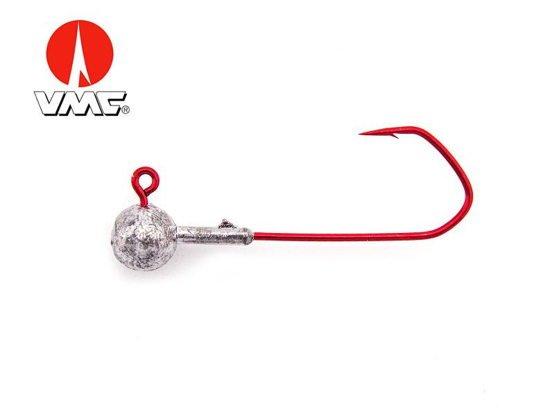 ShadXperts Round Jig Red - Haakmaat 5/0