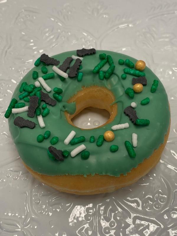 Voetbal donut
