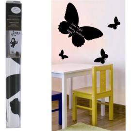 Krijtbordsticker Vlinder