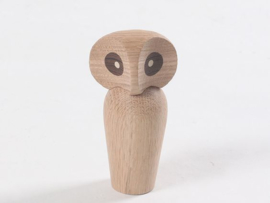 Massief houten uil
