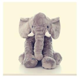 Mega knuffelkussen olifant
