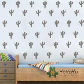 Muurstickers cactus