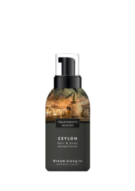 250 ml - Ceylon Hair & Body Showerfoam