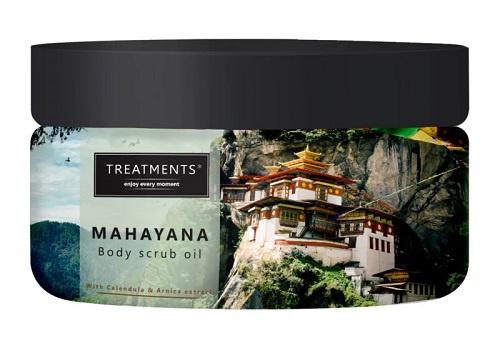 500 gram - Mahayana Body Scrub Oil